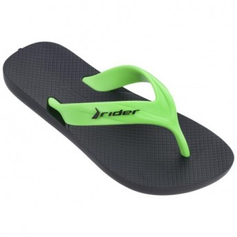 RIDER STRIKE KIDS 20754 BLACK GREEN