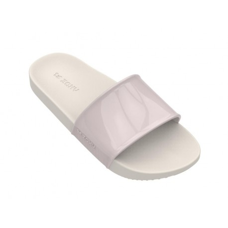 SNAP nude flat flip flops for woman
