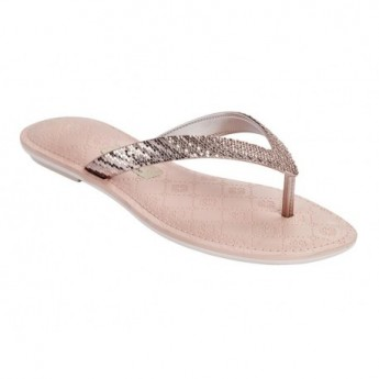 SENSE V nude flat finger sandals for woman