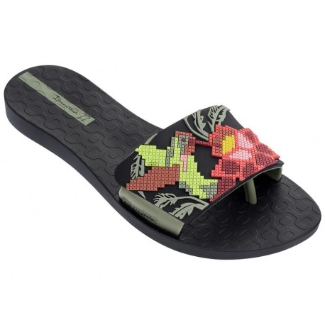 Ipanema MADE IN BRASIL Livia II 2017 FEM BlackGreen Flip Flops