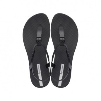 CLASS II black flat finger sandals for woman