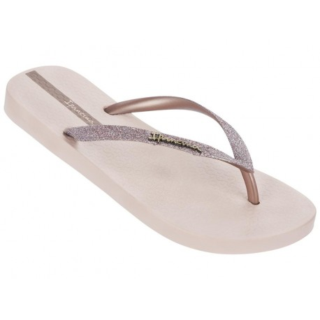 LOLITA III pink flat finger flip flops for woman