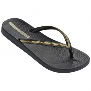 IPANEMA ANA METALLIC FEM 23480 BLACK BLACK GOLD