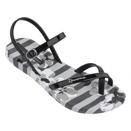 IPANEMA FASHION SAND. V FEM 21869 GREY BLACK