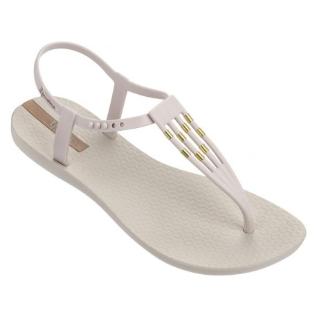 PREMIUM SUNRAY beige flat finger sandals for woman