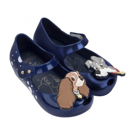 MINI MELISSA ULTRAGIRL + LADY AND THE TRAMP ME BB 19636 BLUE AZUL