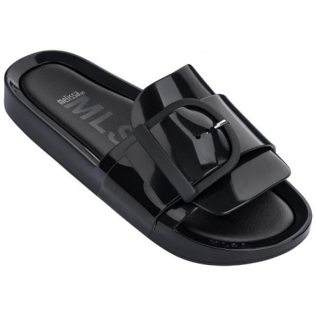 MELISSA BEACH SLIDE IV AD 01003 BLACK NEGRO