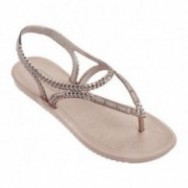 RIVIERA III pink flat finger sandals for woman