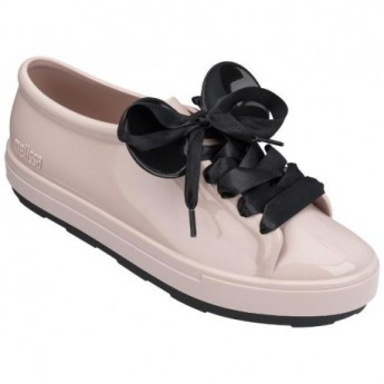 BE + DISNEY black and pink flat sneakers for woman