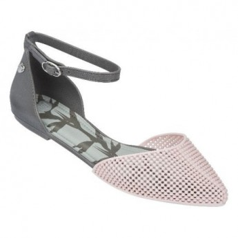 PITANGA grey and pink flat ballet flats for woman