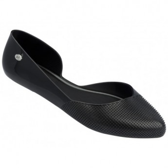 TANGERINA black flat ballet flats for woman