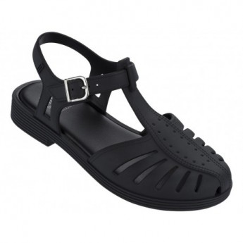 ARANHA 1979 black flat crab sandals for girl