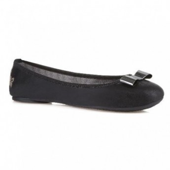 CHLOE black flat ballet flats for woman