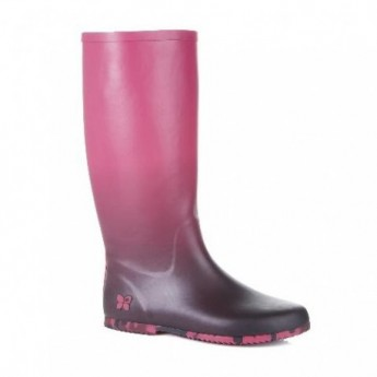 RICHMOND pink flat closed boots for woman