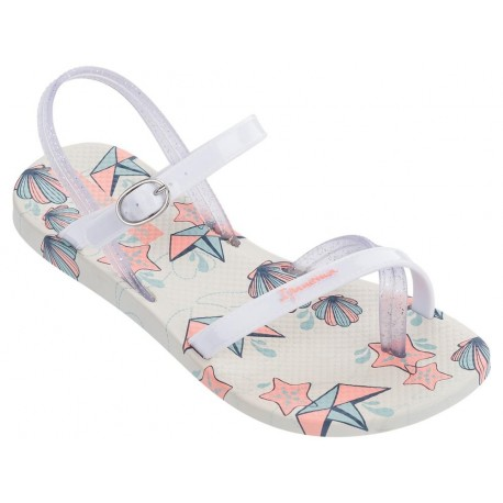 IPANEMA FASHION SAND. V KIDS 21010 BEIGE WHITE