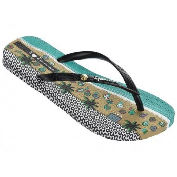 IPANEMA I LOVE TRIBAL FEM 20837 BEIGE NEGRO