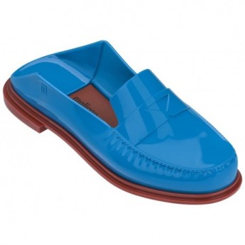 BEND blue and brown under clogs for woman