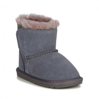 TODDLE grey flat closed boots for baby
