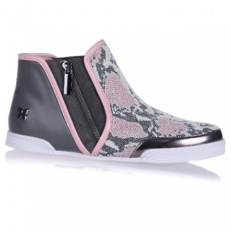 ALEXIS pink flat sneaker sneakers for woman