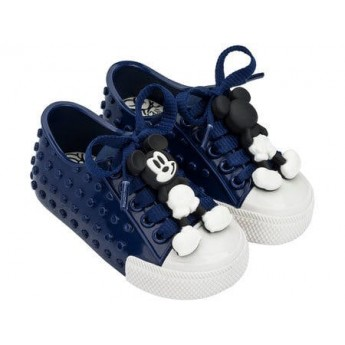 POLIBOLHA + DISNEY blue flat sneaker sneakers for baby