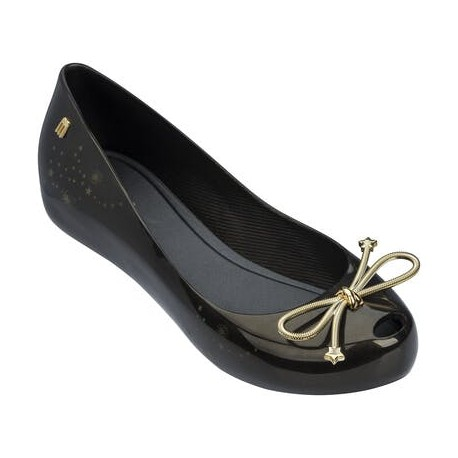 MELISSA ULTRAGIRL ELEMENTS AD 06493 BLACK GOLD-NEGRO DORADO