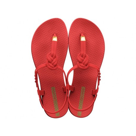 CLASS GLAM II cristina pedroche red flat finger sandals for woman