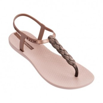 CHARM VI pink flat finger sandals for woman