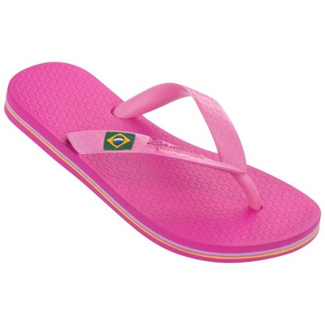 CLAS BRASIL II pink flat finger flip flops for child