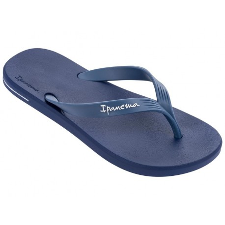 POSTO 10 navy blue flat finger flip flops for man
