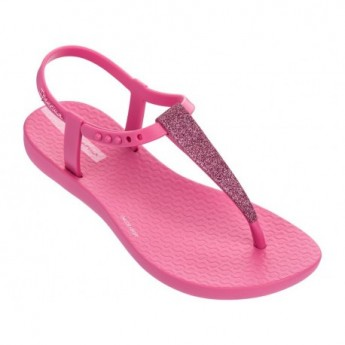 CHARM SAND II pink flat finger sandals for girl