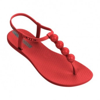 CHARM VI cristina pedroche red flat finger sandals for woman