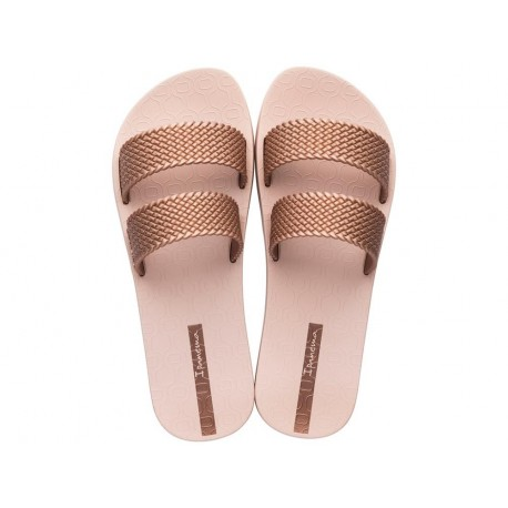 CITY pink flat shovel flip flops for woman