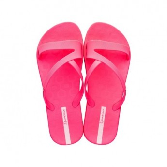 ART pink flat open flip flops for woman