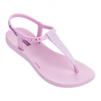 CHARM SAND II pink flat finger sandals for child