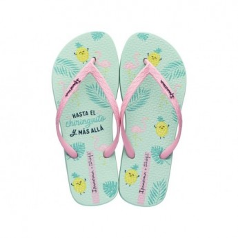 IPANEMA + MR. WONDERFUL FEM 20735 GREEN PINK