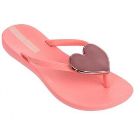 MAXI FASHION pink flat finger flip flops for child