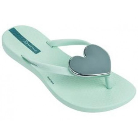 MAXI FASHION green flat finger flip flops for child