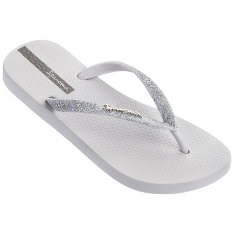 LOLITA III grey flat finger flip flops for woman