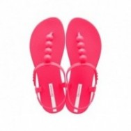 CLASS GLAM II pink flat finger sandals for woman
