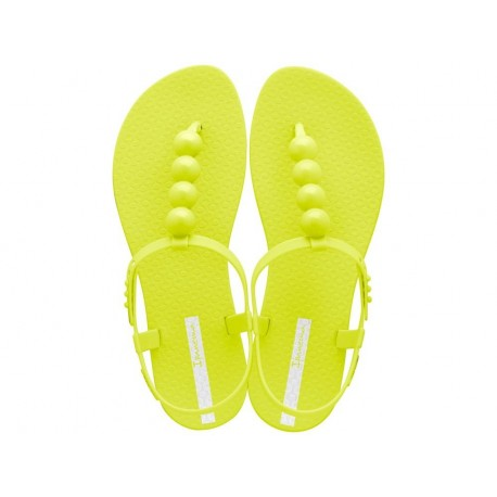 CLASS GLAM II yellow flat finger sandals for woman