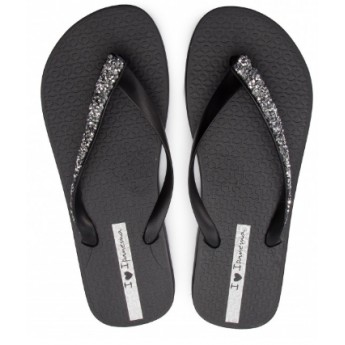 GLAM SPECIAL cristina pedroche black flat finger flip flops for woman