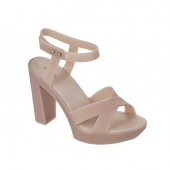 CLASSIC LADY pink with heel sandals for woman