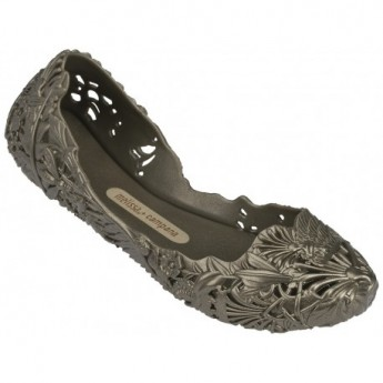 CAMPANA BARROCA hermanos campana bronze flat ballet flats for woman