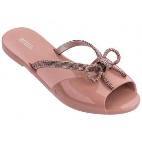 ELA CHROME pink flat finger flip flops for woman