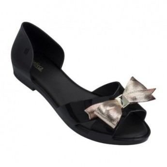 SEDUCTION IV black flat ballet flats for woman