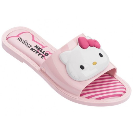 SLIPPER + HELLO KITTY hello kitty pink flat open flip flops for woman
