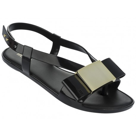 MELISSA FLAT LOVELY AD 01003 BLACK NEGRO