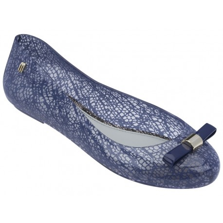 MELISSA SPACE LOVE + JASON WU AD 51510 CLEAR BLUE-TRANSPARENTE AZUL