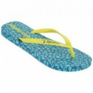 IPANEMA ANIMAL PRINT FEM 20688 AZUL AMARILLO
