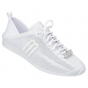 LOVE SYSTEM NOW white flat sneaker sneakers for woman